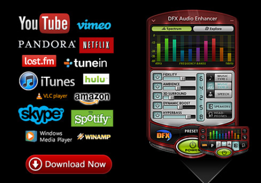 DFX Audio Enhancer windows