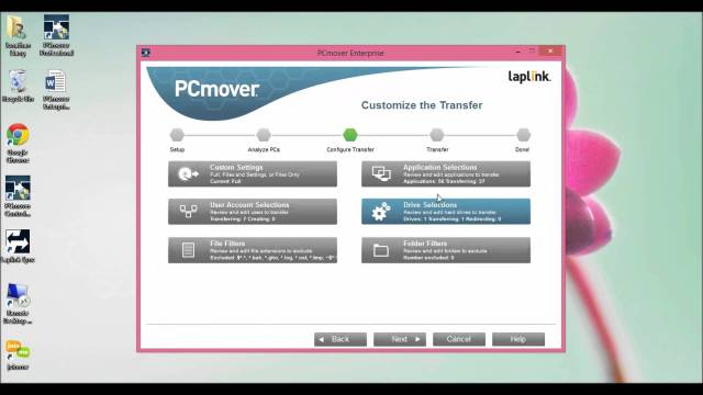 Laplink PCmover Enterprise windows