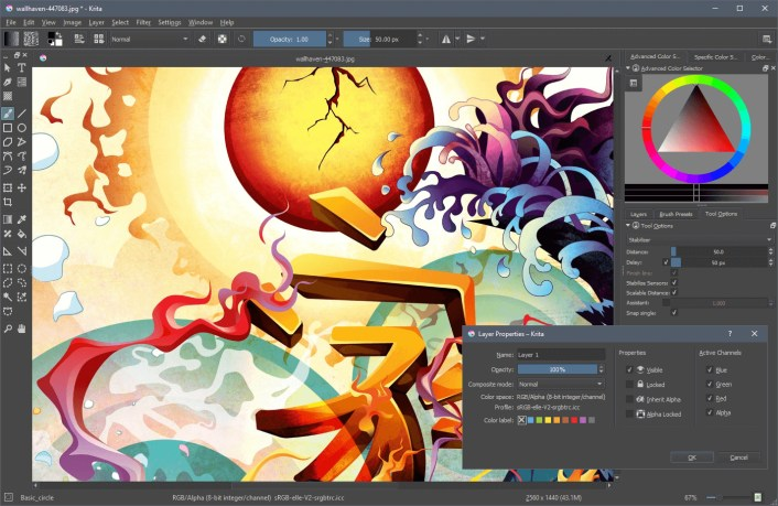 Krita latest version