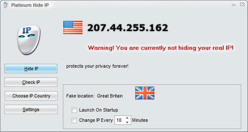 Platinum Hide IP windows