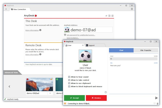 AnyDesk latest version