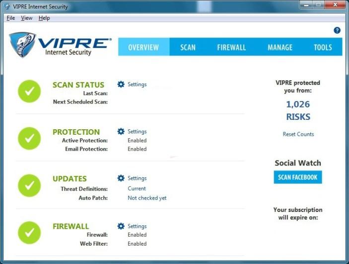 VIPRE Internet Security Pro latest version