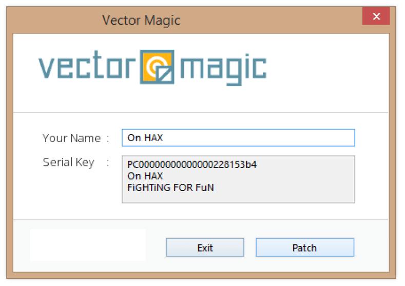 Vector Magic windows