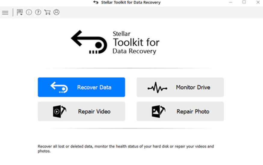 Stellar Toolkit for Data Recovery windows