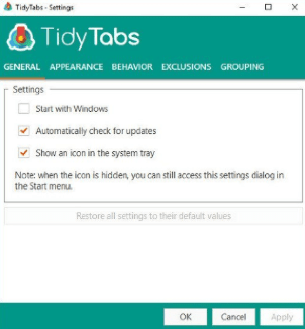 TidyTabs Professional latest version