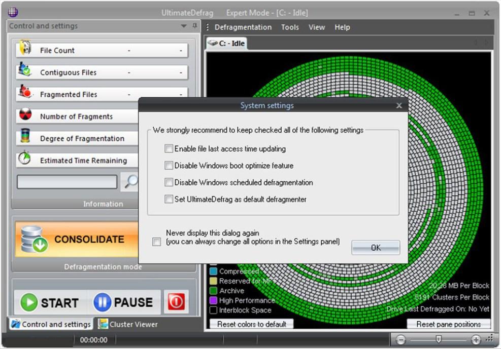 DiskTrix UltimateDefrag latest version