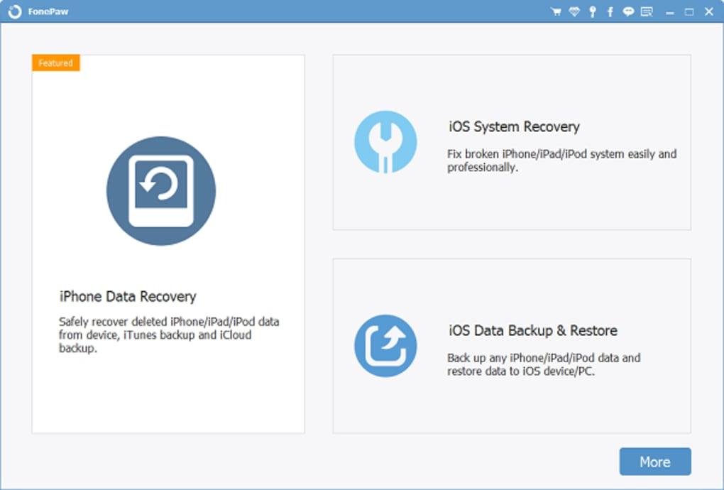 FonePaw IPhone Data Recovery latest version