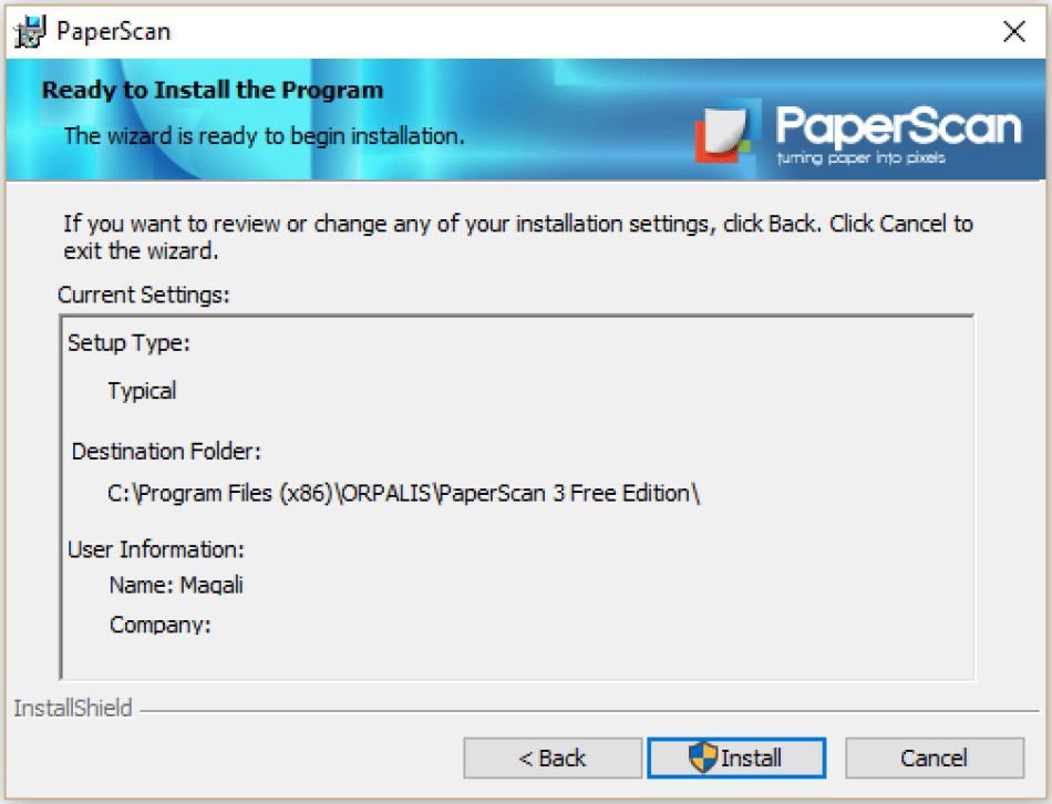 ORPALIS PaperScan Professional latest version