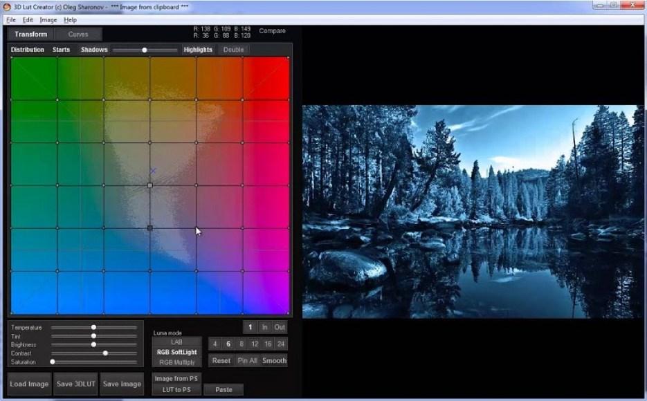 3D LUT Creator Pro windows