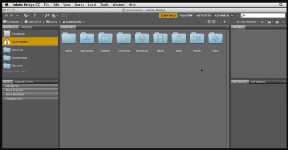Adobe Bridge CC latest version