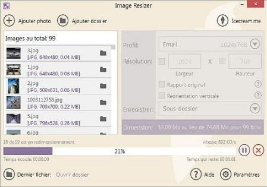 IceCream Image Resizer windows
