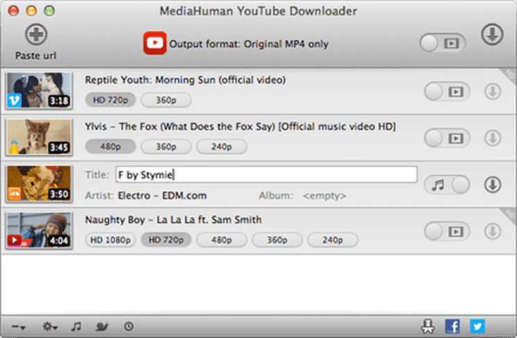 MediaHuman YouTube Downloader latest version