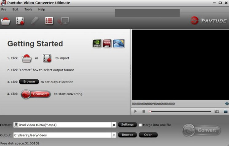 Pavtube Video Converter Ultimate windows