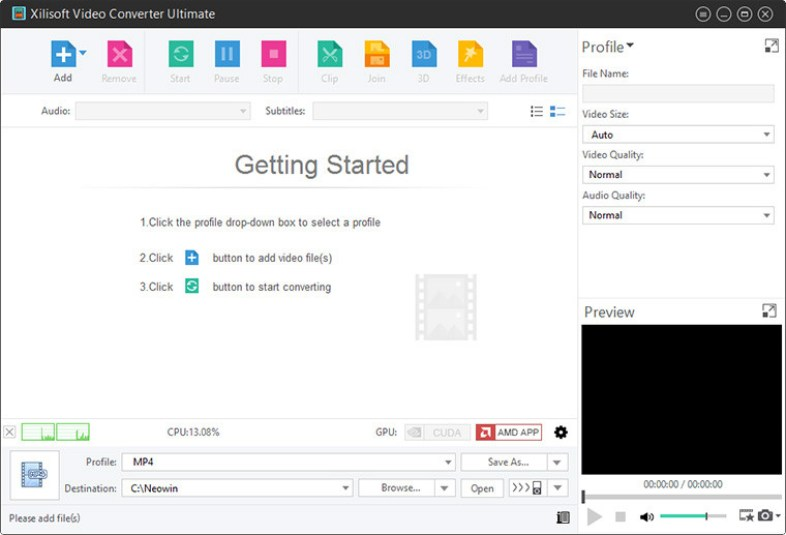 Xilisoft Video Converter Ultimate windows