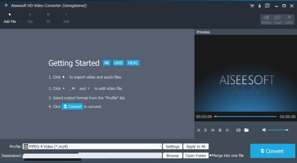 Aiseesoft HD Video Converter windows