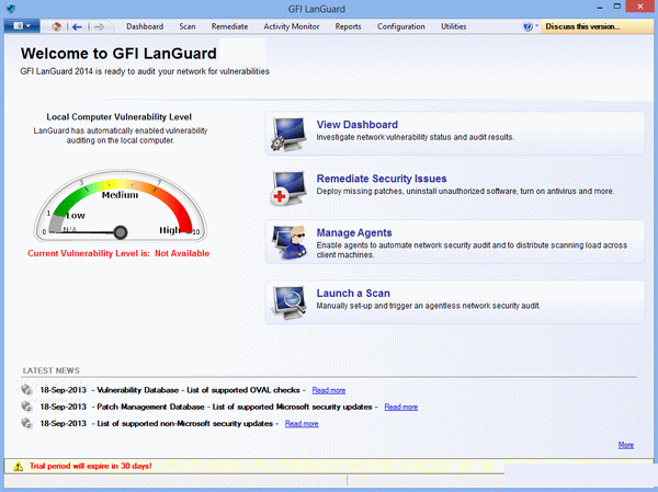 GFI LanGuard windows