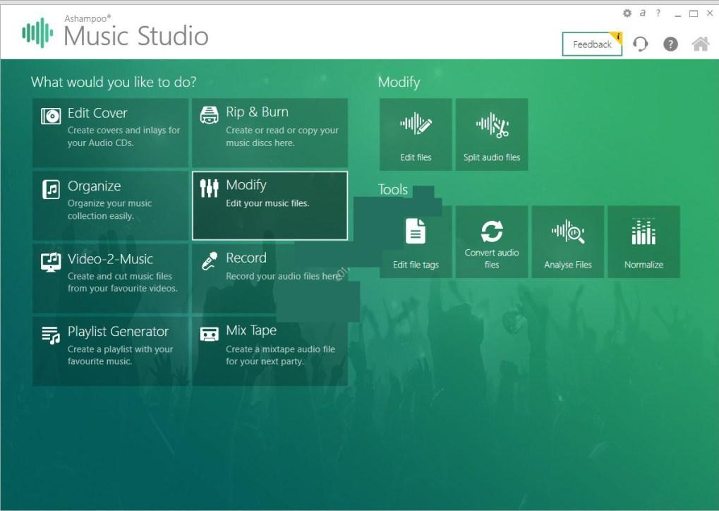 Ashampoo Music Studio latest version