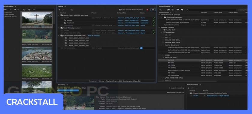 Adobe Media Encoder CC 2018 v12.0.1.64 + Portable-crack software