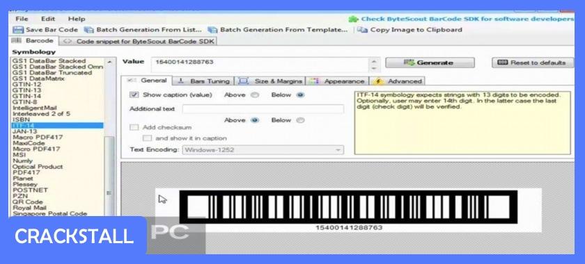 ByteScout BarCode Generator-crack software