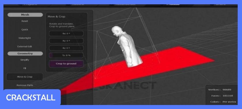 Skanect Pro 1.8.4 for Mac-software crack