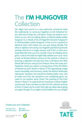 Tate Britain Hangover Collection Advert