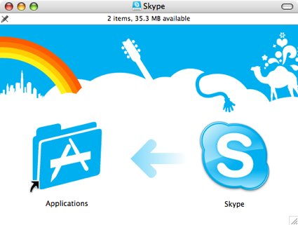 Skype Install Screen