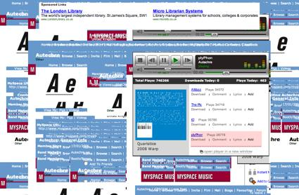 Autechre on Myspace