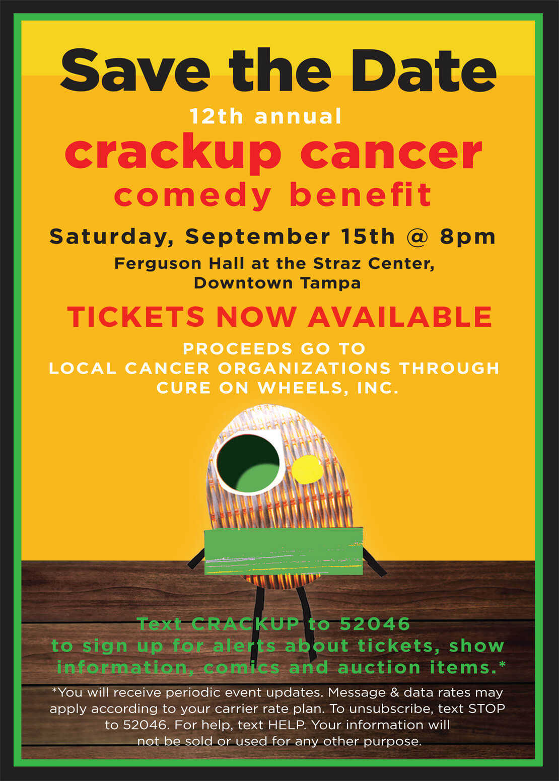 Crack Up Cancer 2018 Tickets Now Available