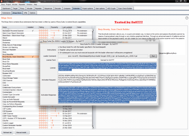 Burp Suite Professional License Key Dowmload Free