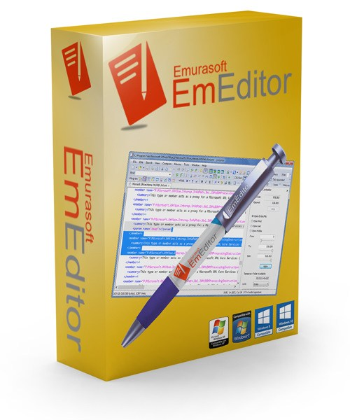 Emurasoft-EmEditor-Professional-Crackl-Free-Download