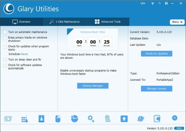 Glary Utilities Pro Crack free download