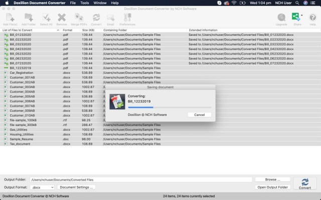 NCH Doxillion Plus crack free download