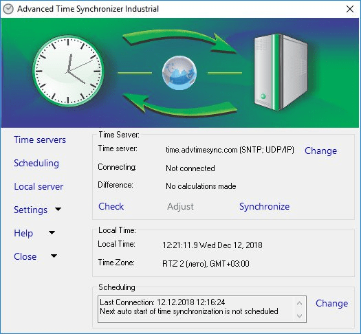 Advanced Time Synchronizer Industrial crack