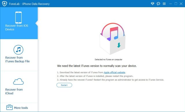 Aiseesoft FoneLab iPhone Data Recovery Crack Download
