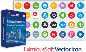 EximiousSoft Vector Icon free