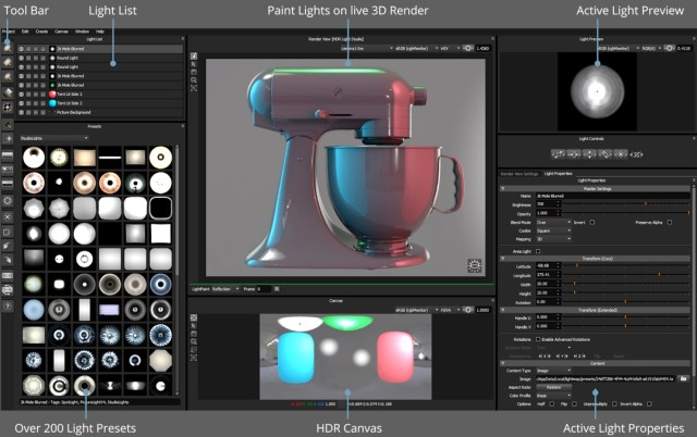 Lightmap HDR Light Studio free
