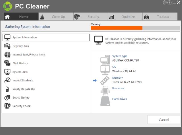 PC Cleaner Platinum crack free