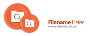 VovSoft Filename Lister 3.3