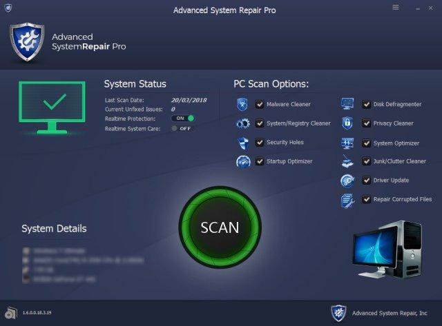 Advanced System Repair Pro 1.9.3.9