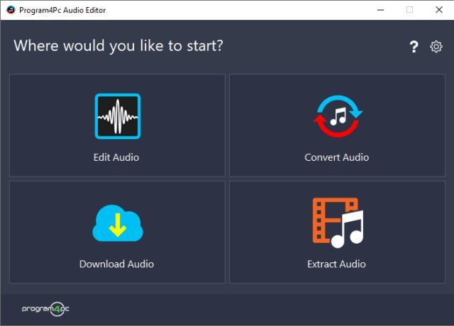 Program4Pc Audio Editor 9.0