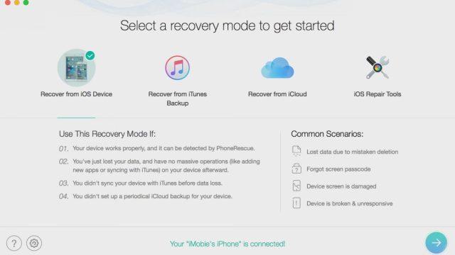 imobie PhoneRescue for iOS 4