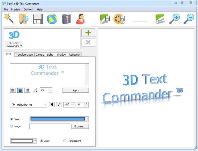 Insofta 3D Text Commander Crack