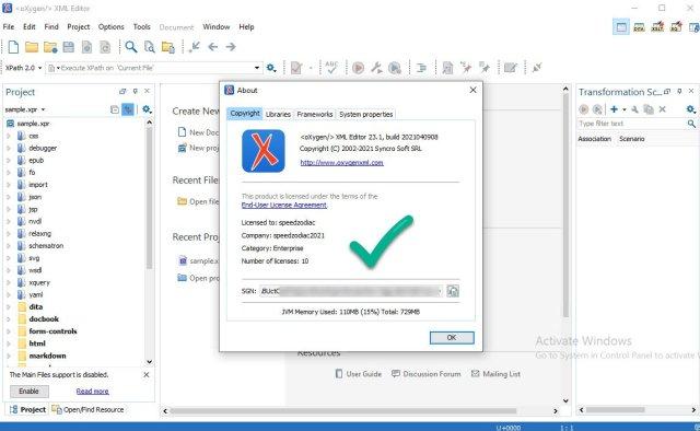 Oxygen XML Editor 23.1 Build 2021040908 crack