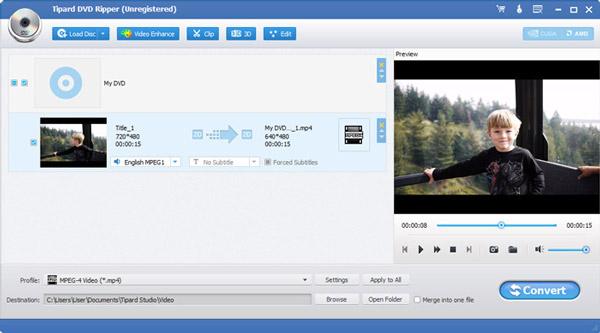 Tipard DVD Ripper 10.0.30