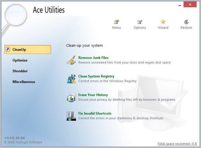 Ace Utilities Latest Version Free.