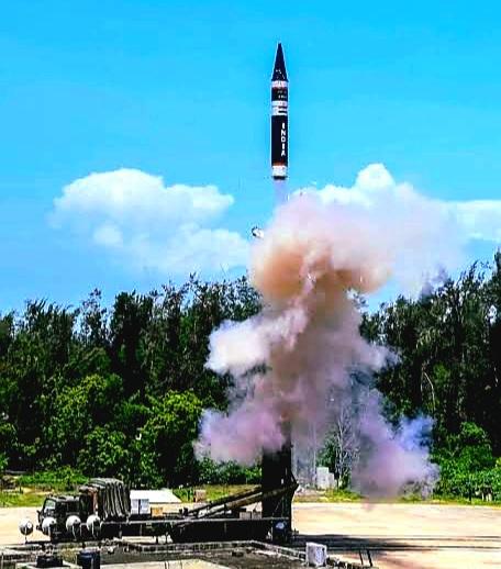 DRDO successfully flight-tests 'Agni P' Ballistic Missile off Odisha Coast