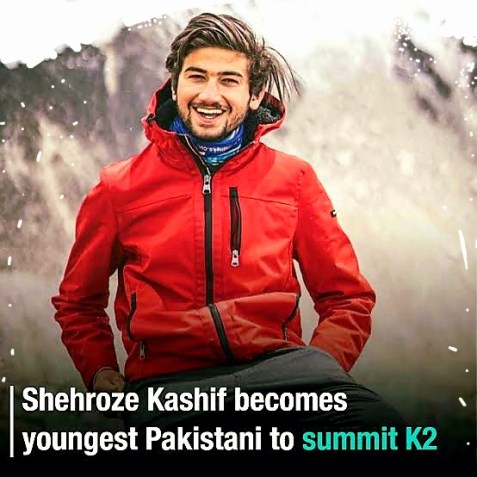 Shehroze Kashif becomes world's youngest mountaineer to scale K2