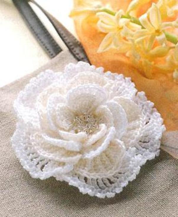 Crochet Flower Diagrams / Patterns ♥ http://www.craft-craft.net