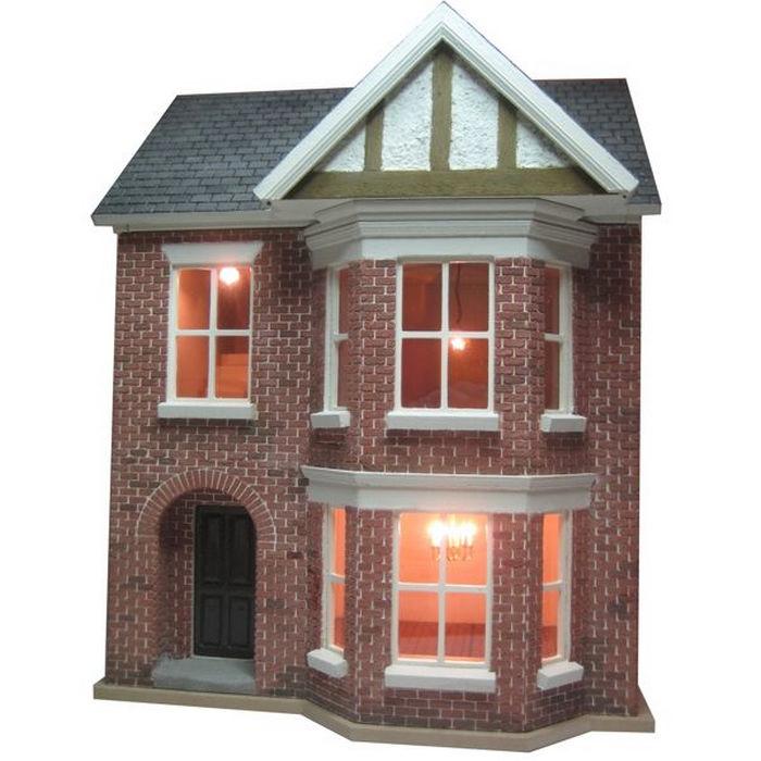 Bay View House Unpainted Kit 124 Scale BDH0124