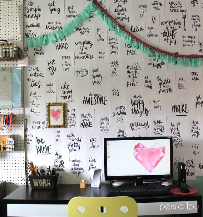 Wallpaper Borders Your Sewing Room